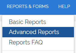 Finding advanced reports